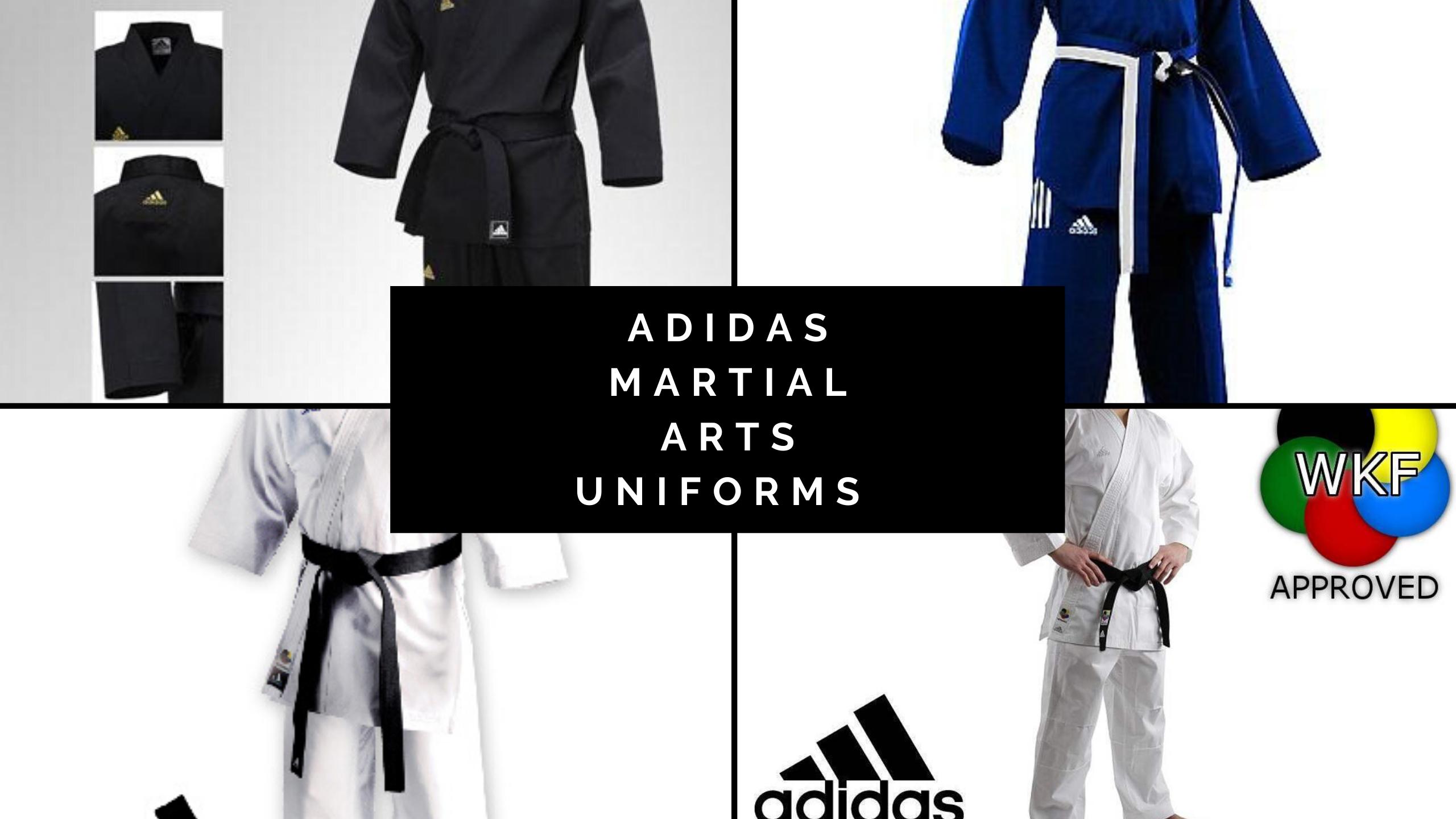 Adidas Martial Arts Uniforms